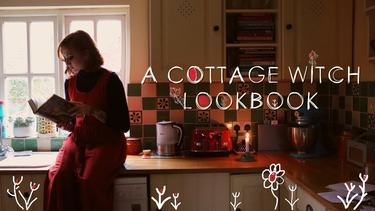 [VIDEO] - A Cottage Witch Lookbook ✨    SHOP DIXI WINTER STYLING 💫 2