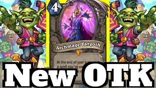 NEW Standard Quest Paladin OTK! Vargoth Tour Guide Combo! | Hearthstone