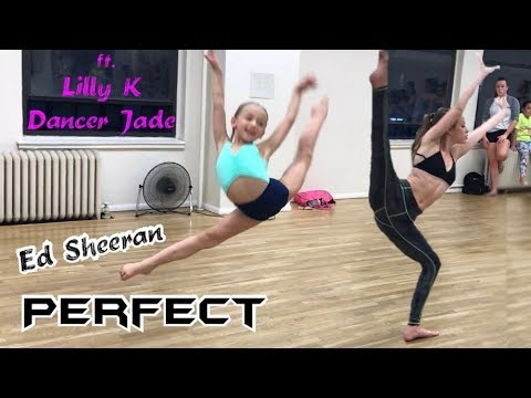 Perfect (Ed Sheeran) - lyrical dance workshop by Martina Steflova ft. Lilly Ketchman and Dancer Jade