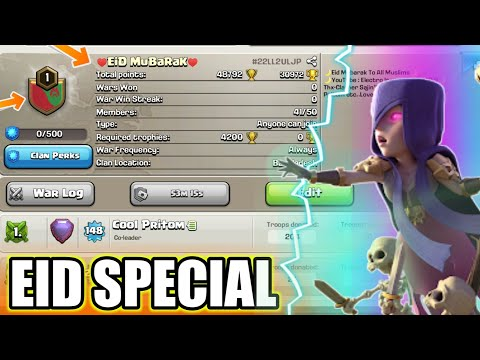 EID SPECIAL I CLASH OF CLANS I SHOW YOUR SUPPORT