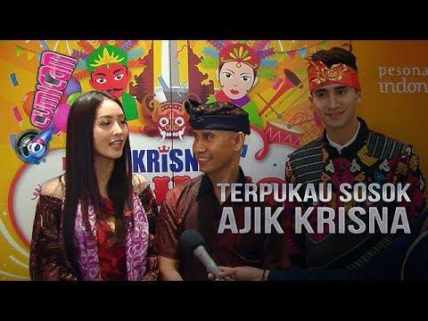 Hadiri Launching Krisna Oleh-oleh Kota Tua, Verrell-Wilona Terpukau - Cumicam 15 Mei 2018