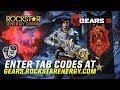 Gambar cover Rockstar Energy x Gears 5 Unlimited In-Game Items + Mega Grand Prize