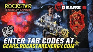 Rockstar Energy x Gears 5 (Unlimited In-Game Items +...
