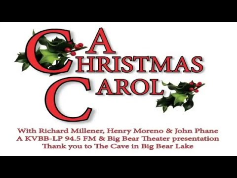 A Christmas Carol   Richard Millener, Henry Moreno, John Phane at the Cave 12 04 2015