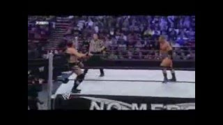 WWE No Mercy 2008 Highlights