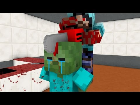 TOP 6 SAD LIFE ANIMATIONS - Minecraft Animation