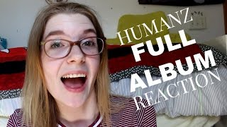 Gorillaz: Humanz Full Album REACTION | Olivia Rena