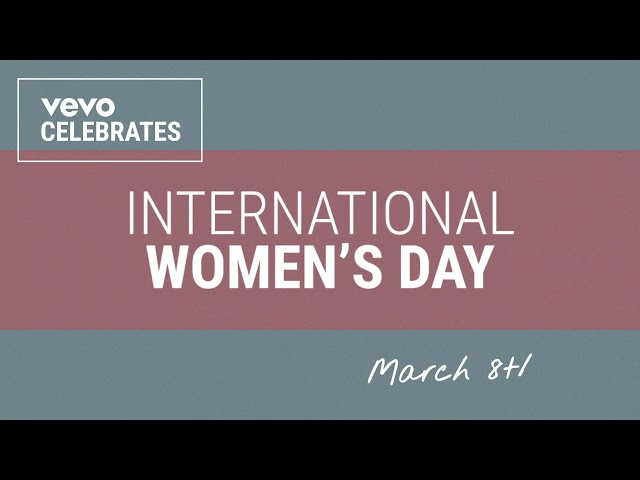 Vevo - International Women's Day Interstitial