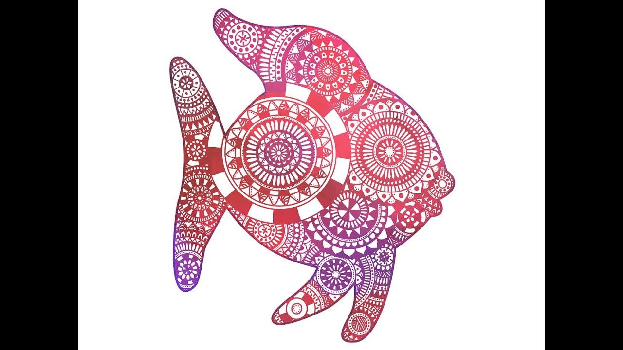 Mandala fish - https://www.juditschober.com