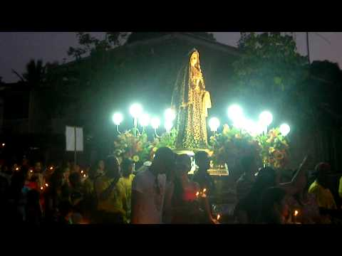 Good Friday Procession in Banga, Aklan on April 2011 pt. 7
