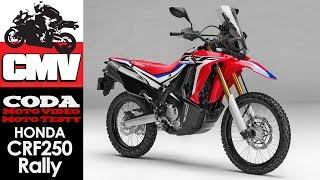 Honda CRF250 Rally - test, opinia, recenzja, prezentacja, jazda testowa - CMV Moto Testy