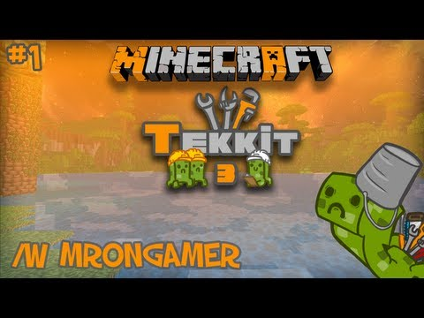 Tekkit Tutorial Time - How to build a Nuclear Reactor w/ MrOnGamer