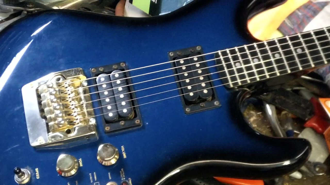 2nd video of my cort effector guitar fixes youtube rh youtube com Cort Guitar Wiring 3 Wire Guitar Pickup Wiring
