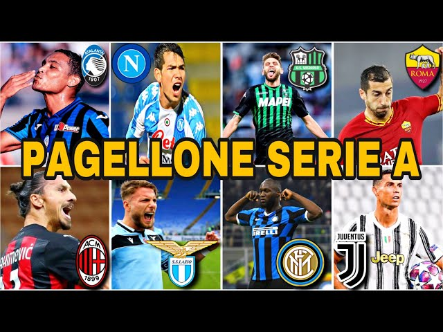 PAGELLONE SERIE A GIRONE D'ANDATA 2020-21