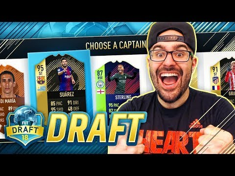 THIS DRAFT WAS INSANE! MY FIRST #PS4 DRAFT WIN!! FIFA 18 DRAFT!!!