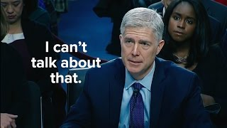 Neil Gorsuch on Religious Tests: