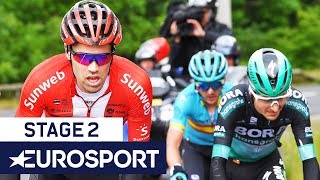 Critérium du Dauphiné 2019 | Stage 2 Highlights | Cycling | Eurosport