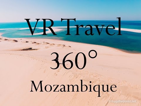 VR Travel - Edge of the World - Ponta Dundo, Mozambique