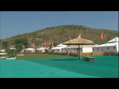 PM Shri Narendra Modi Visits Valley Of Flowers \u0026 Tent City In Kevadia, Gujarat
