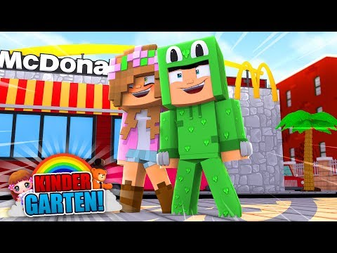 Minecraft Kindergarten - THE TRIP TO MCDONALDS!