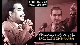 Remembering The Apostle Of Love Bro Dgs