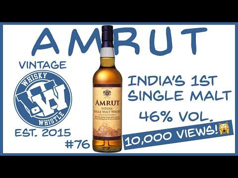 Amrut Indian Single Malt Whisky: WhiskyWhistle Whisky Review 76