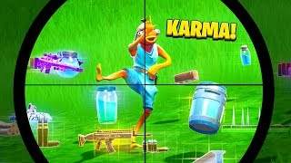 Top 10 TOXIC Fortnite Players WHO GOT INSTANT KARMA!