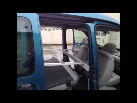 renault kangoo bivouac camping car youtube. Black Bedroom Furniture Sets. Home Design Ideas