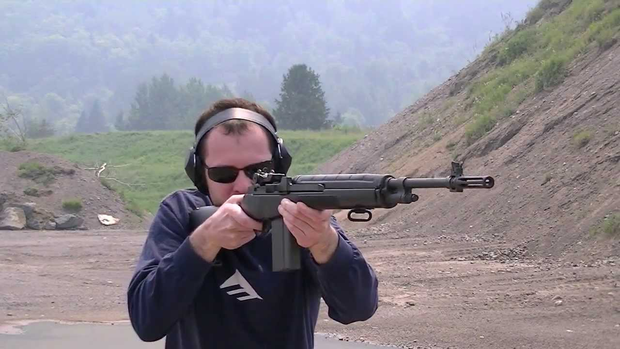 Norinco M14s .308 Shooting - YouTube