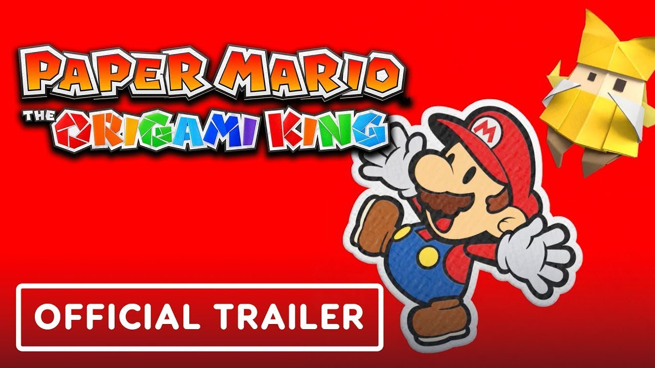 Paper Mario: The Origami King Nintendo Switch - Trailer