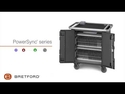Bretford | PowerSync® series charging cart for Apple devices