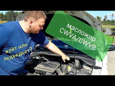 Фото к видео: Масложор Skoda 1,6. Двигатель CWVA/CWVB