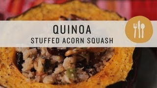Quinoa Stuffed Acorn Squash - Superfoods
