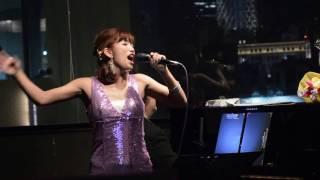 2017年3月18日にJazz Bar Smile (浅草)で行われれた彩乃さんのライブの...