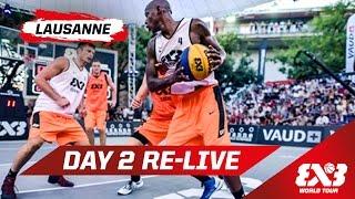Day 2 + Dunk Contest - Re-Live - Lausanne - 2015 FIBA 3x3 World Tour