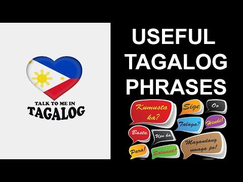 Useful Tagalog phrases
