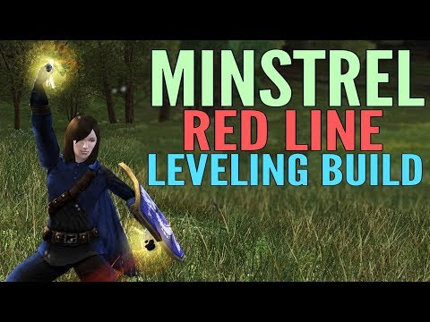 LOTRO Basics - Minstrel Red Line Trait Build Guide (DPS) - Mordor/2017