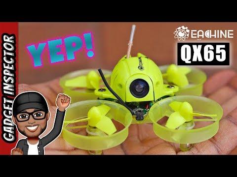 Eachine QX65 Review | Inspect, Binding, Betaflight Setup and Flight Test | Project Mockingbird Tip
