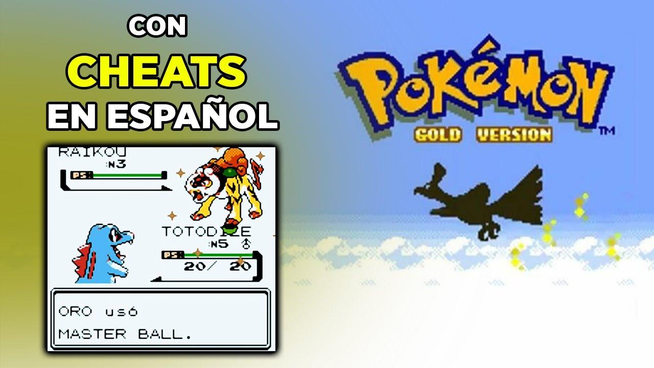 Cheats para Pokemon Oro y Plata en Español para Android | GBC.emu | 2020
