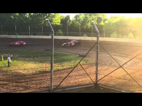 #25 Josh Hauf Hot Laps Doe Run Raceway 8/01/15