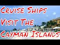 Cruise Ships Visit The Cayman Islands Remembering the Poop Cruise