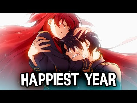 Nightcore - Happiest Year (Jaymes Young) - (Lyrics)
