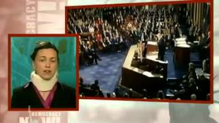 Jewish girl exposes Israel, disrupts Netanyahu during congress, and is tackled by AIPAC