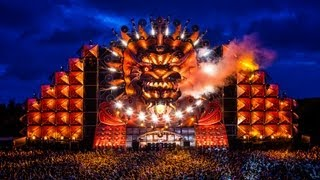 q dance at mysteryland 2012 endshow with fireworks