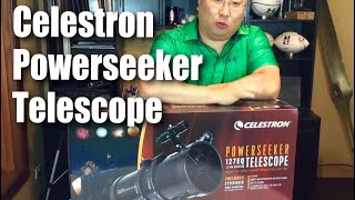 How to assemble the Celestron 127EQ PowerSeeker Telescope