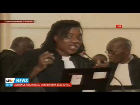 Michèle Ndoki Startles the Constitutional Council with her presentation