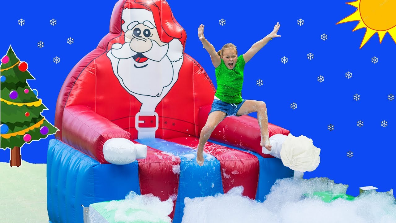 assistant-super-foam-santa-bounce-house-surprise-with-youtuba-clause-and-paw-patrol-and-pj-masks