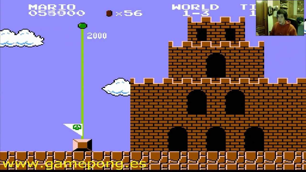 Super Mario Bros Nes Juego Completo Parte 1 Jugando Voy Jugando