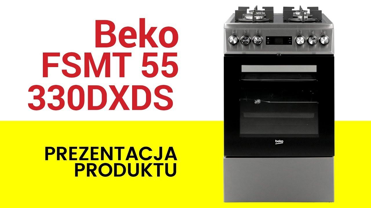 Kuchnia Beko Fsmt55330dxds
