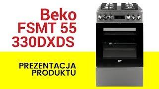 Kuchnia Beko Fsmt55330dxds Youtube